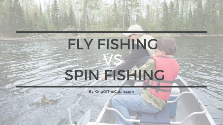 fly fishing vs spin fishing