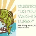 Do you use weights with lures?