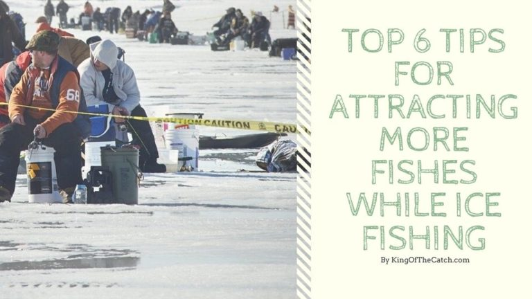 Top 6 Tips for Attracting More Fishes While Ice Fishing