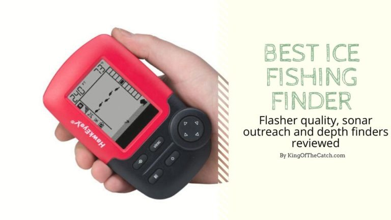 best ice fishing finder