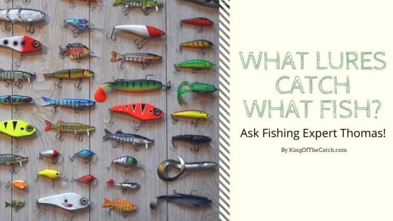 what lures catch watch fish