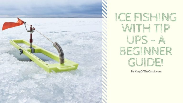 ice fishing with tip ups