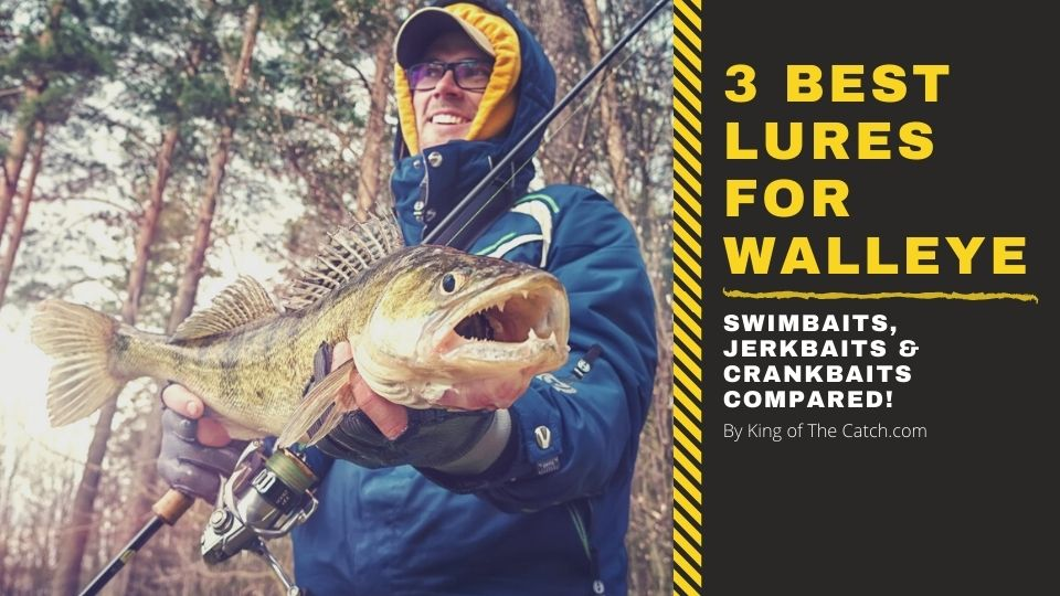 best lures for walleye fishing